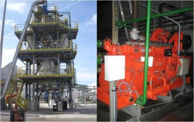 Vitoria Multistep Gasifier and Engine