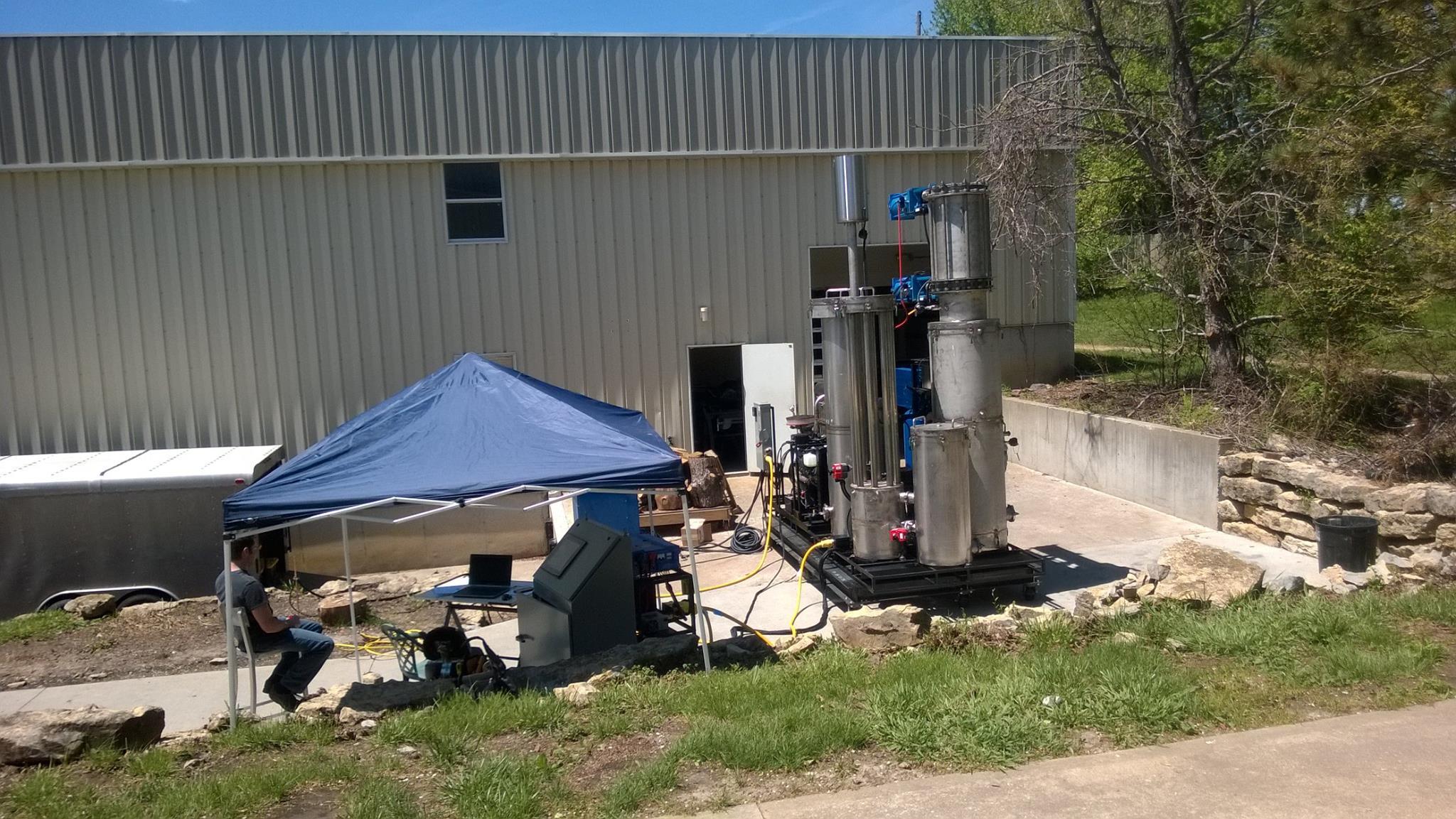 gasifier testing