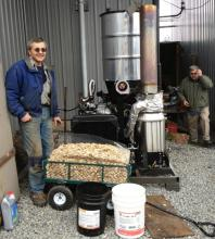 Wood Gasifier at Icy Straits Lumber, Wes Tyler and John Hillman