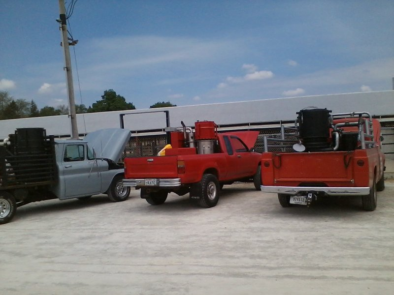 Woodgas Meet and Greet, wood gas truck