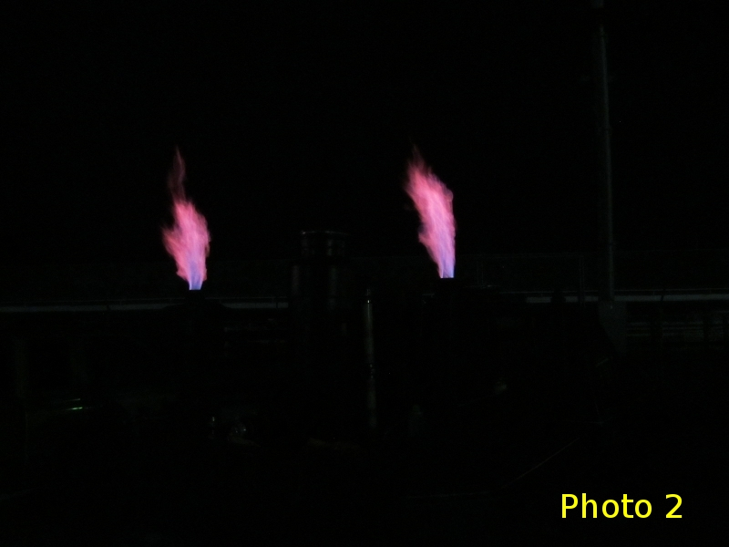Gasifier Flares