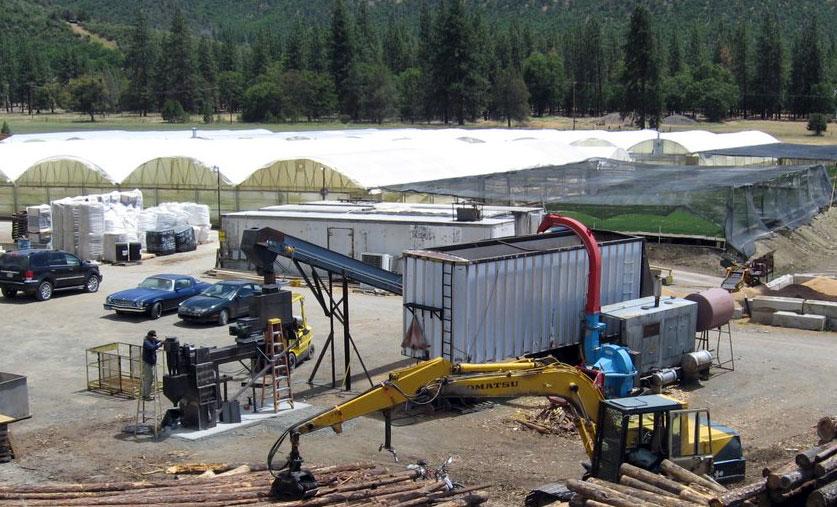 Scott Valley Greenhouse Heating Gasifier