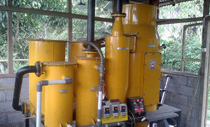 Trillion 70 Gasifier installed in Indonesia